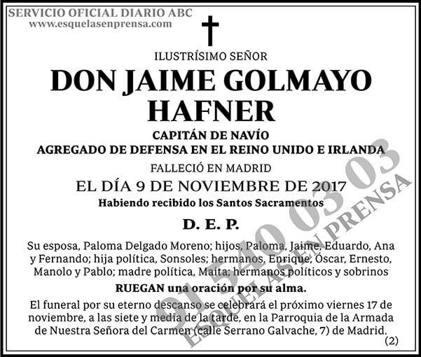 Jaime Golmayo Hafner
